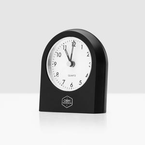 Alarm Clock Analogue Black, OBH Nordica